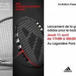 adidas badminton conf presse 11 avril