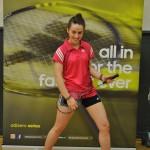 Juliette Wattebled, ambassadrice adidas pour le badminton