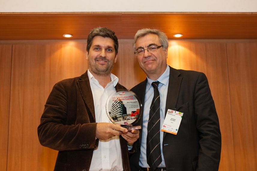 Guillaume Mathieu (CityzenCab) et Jacques Peynot (Transilien) - Grands Prix de la Région Capitale