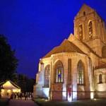'Sur les pas de Van Gogh' - L'église d'Auvers