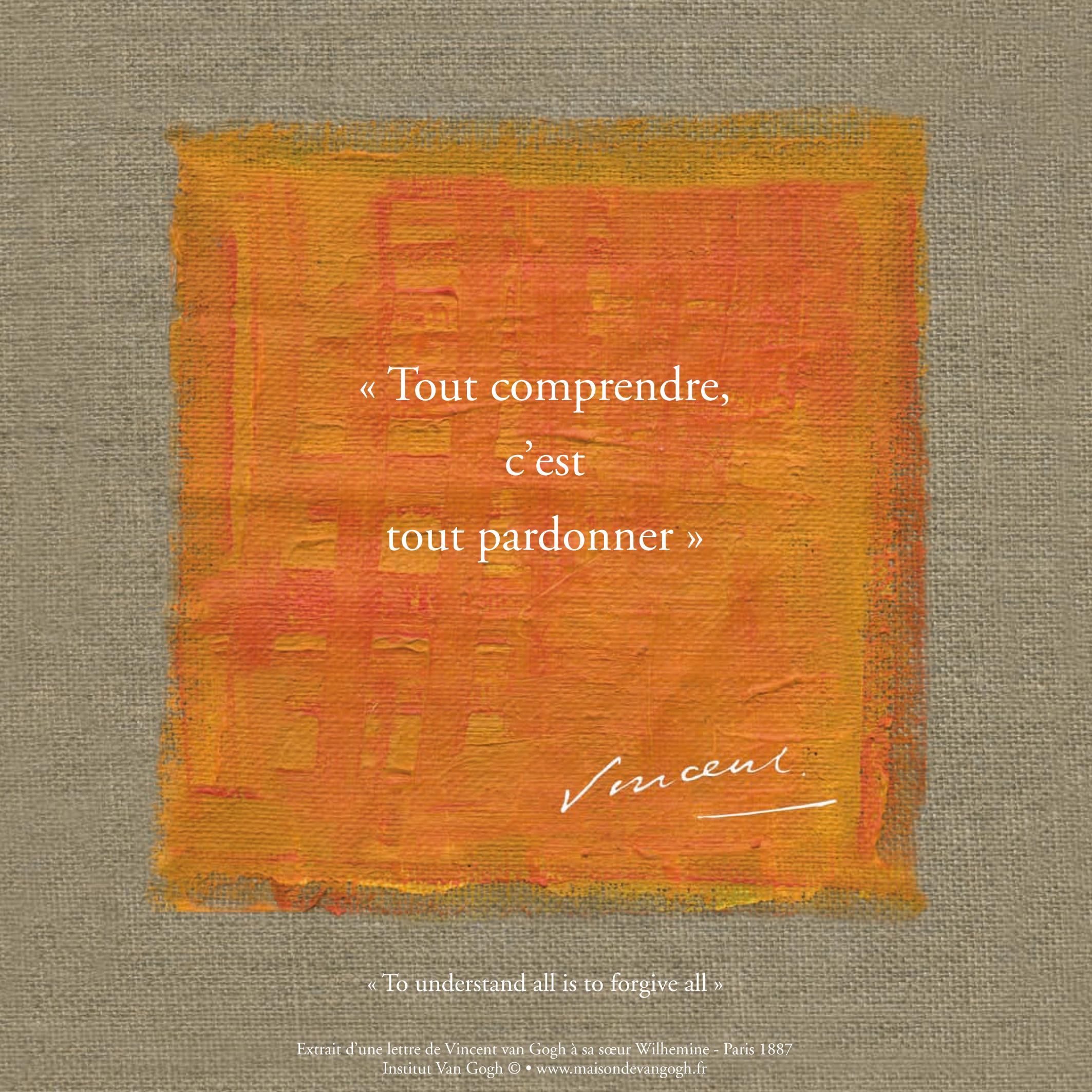 Citation Van Gogh