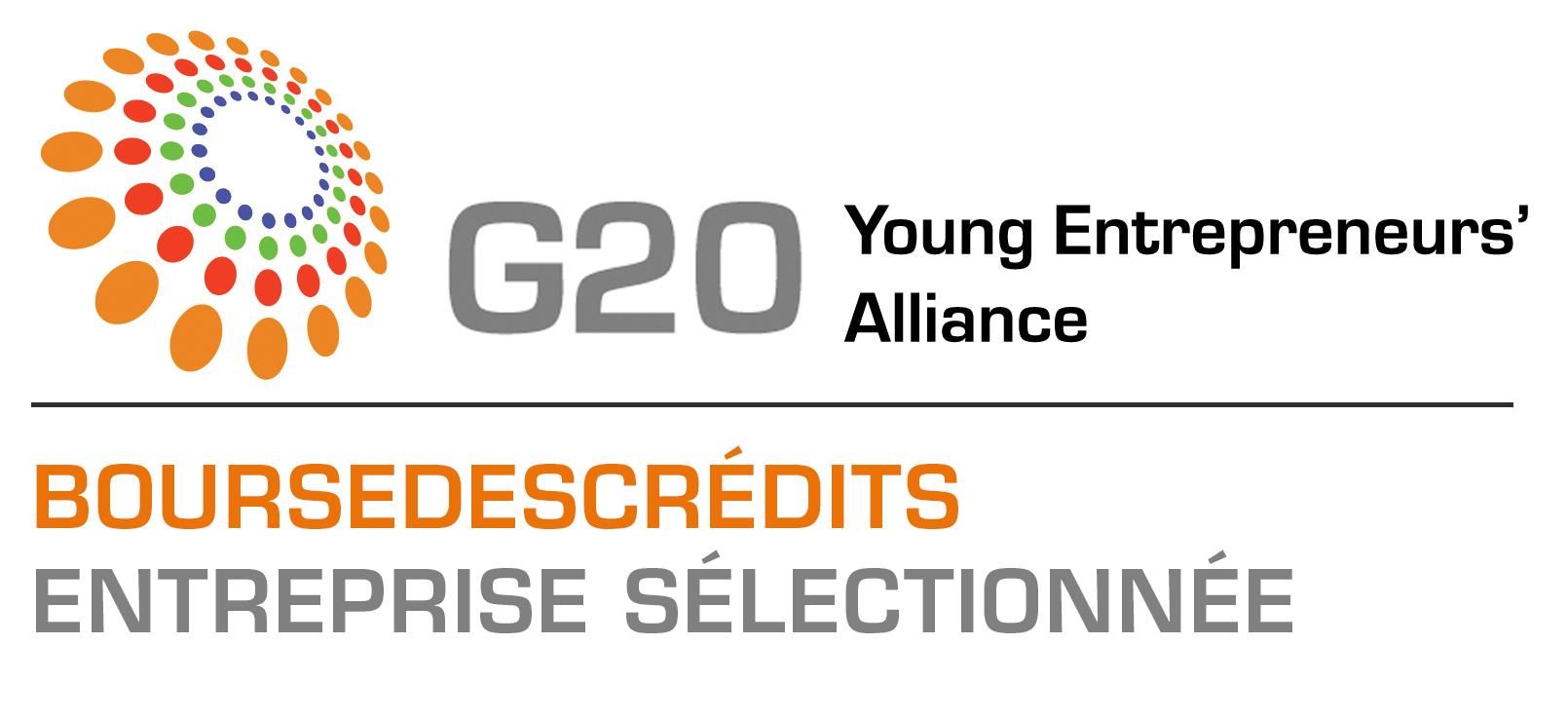 Bourse des Crédits au G20 des Jeunes Entrepreneurs