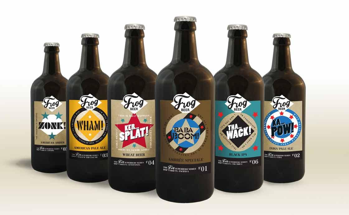 FrogPubs - la Superhero Serie - Bière artisanales en édition limitée