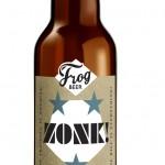 La bière Zonk de la Superhero Serie de FrogPubs