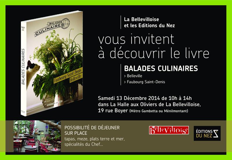 Invitation Bellevilloise 13 Décembre 2014
