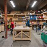 L'atelier assemblage chez ICI Montreuil (crédit photo : Julien Dominguez)