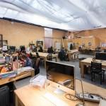 L'espace de co-working chez ICI Montreuil (crédit photo : Julien Dominguez)