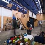 L'atelier street art avec JBC chez ICI Montreuil (crédit photo : Julien Dominguez)