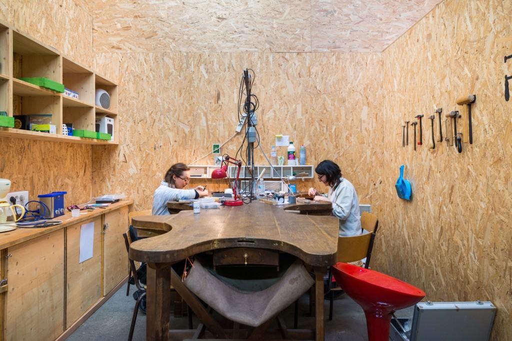 L'atelier bijoux d'ICI Montreuil