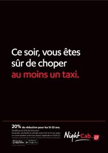 affichage taxis g7 cible les 15 25 ans avec next one moreno conseil. Black Bedroom Furniture Sets. Home Design Ideas