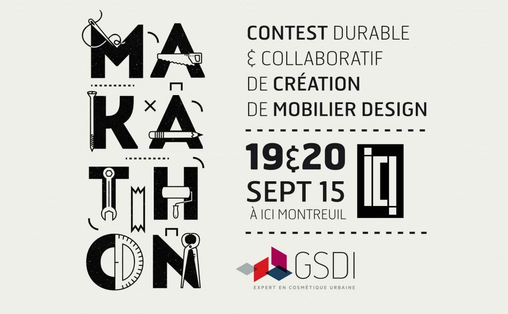 Makathon GSDI les 19 & 20 Septembre chez Ici Montreuil