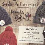 Soirée de lancement des bonnets de la Marque 64 by Pipolaki