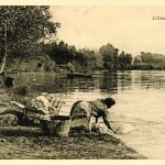 L'Oise à Auvers – collection de cartes anciennes de l'Institut Van Gogh