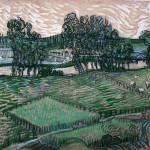Van Gogh - Vue sur l'Oise - 1890