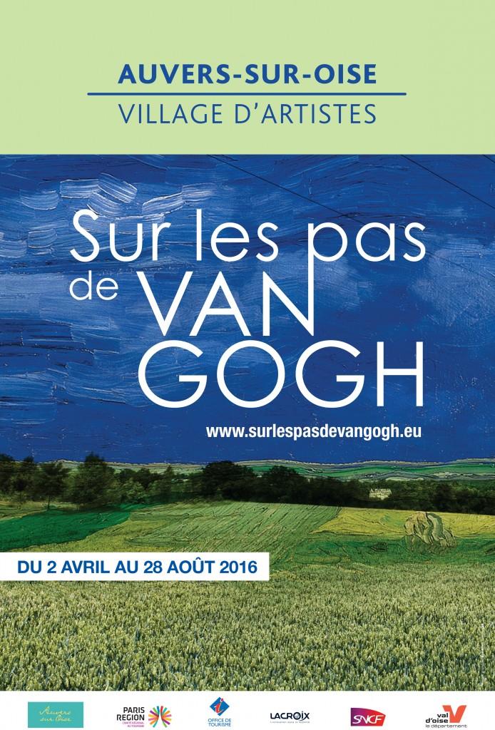Affiche Van Gogh au fil de l'Oise