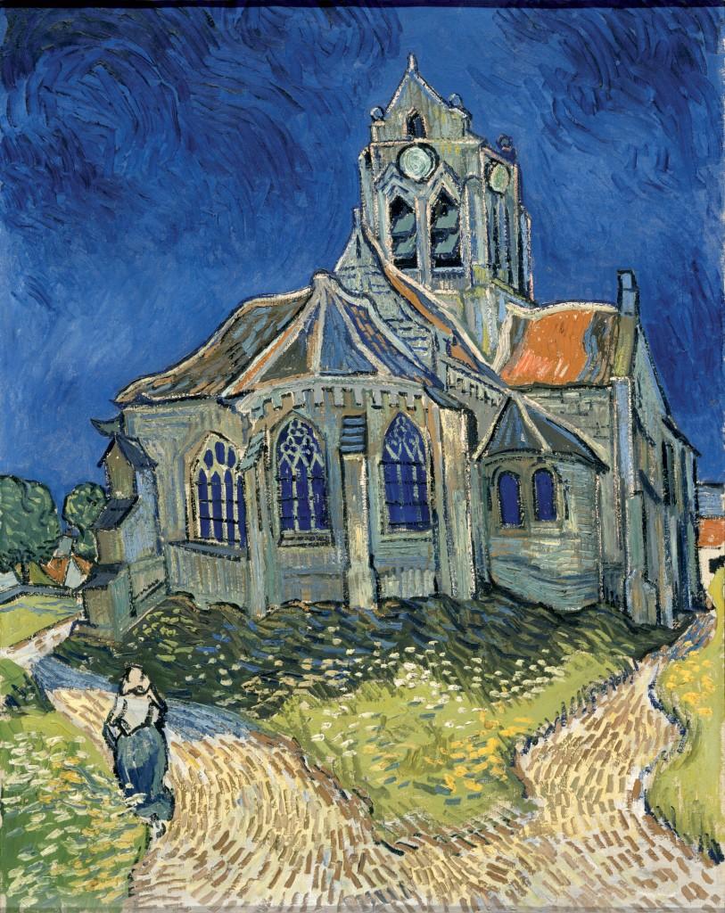 Eglise d'Auvers-sur-Oise (Vincent van Gogh)