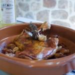 Épaule d'Agneau rôtie et gnocchis de polenta à l'Ossau-Iraty par Antoine Chépy - Crédit AOP Ossau-Iraty