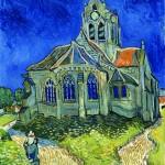 L'Eglise d'Auvers - Crédit Institut Van Gogh