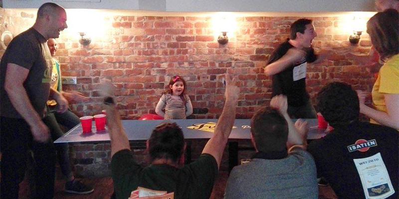 Samedi 6 mai, tournoi de BeerPong à The Frog & Underground